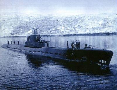 """Подводная лодка серии """"К"""""""