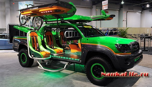 Необычные автомобили с необычными функциями